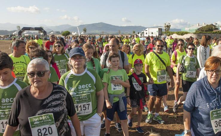 Carrera contra el cáncer en Santander