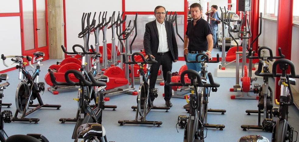 El nuevo gimnasio del Vicente Trueba entra en funcionamiento