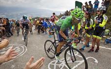 La Vuelta en Cantabria, en directo