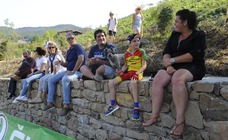 Asi ha recibido Liébana a la Vuelta a España