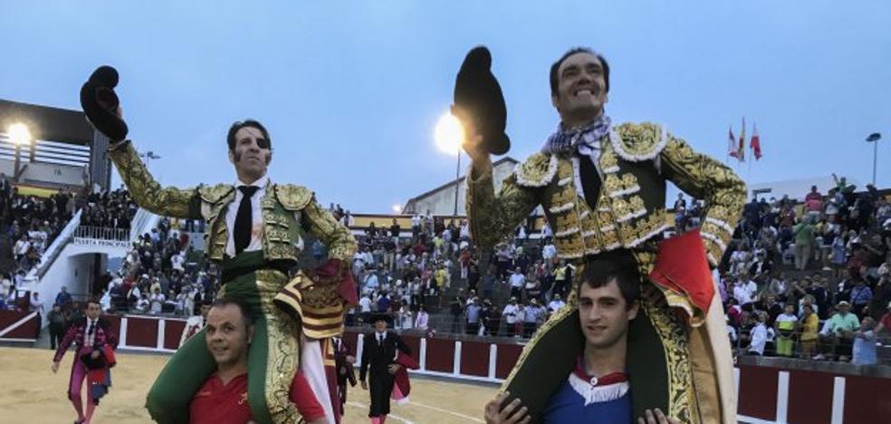 Padilla y El Cid maravillan en Santoña
