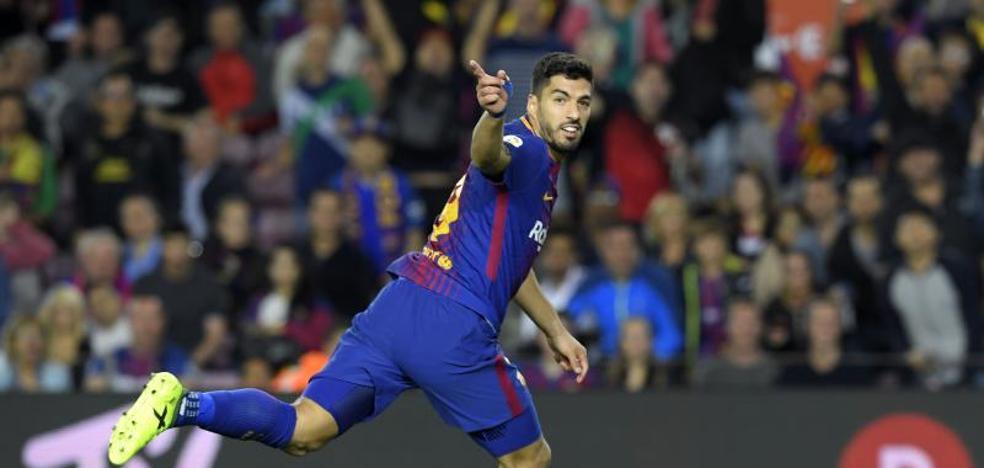 Luis Suárez: «Son tres puntos importantes pero queda mucho»