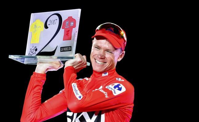 Froome, el multicampeón del Tour que quería también la Vuelta