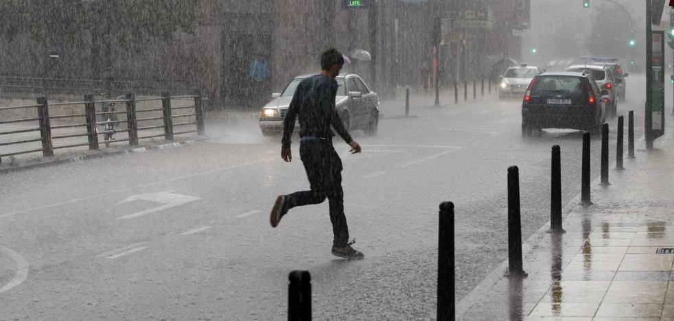 En cabeza nacional por la lluvia