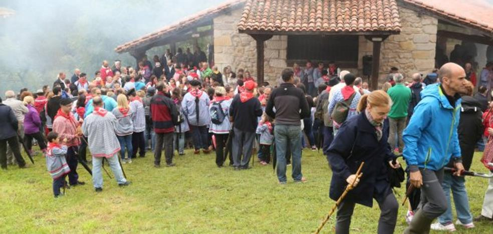 Cartes celebra hoy la romería montañesa de San Cipriano
