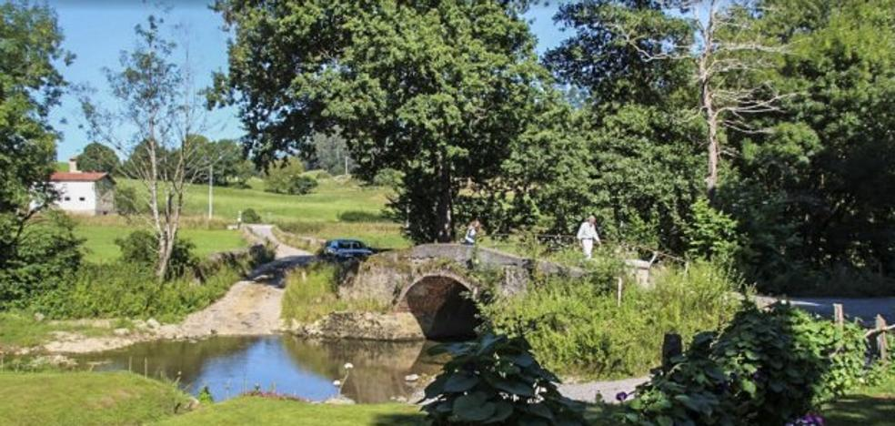 Un puente del siglo XVII, en peligro