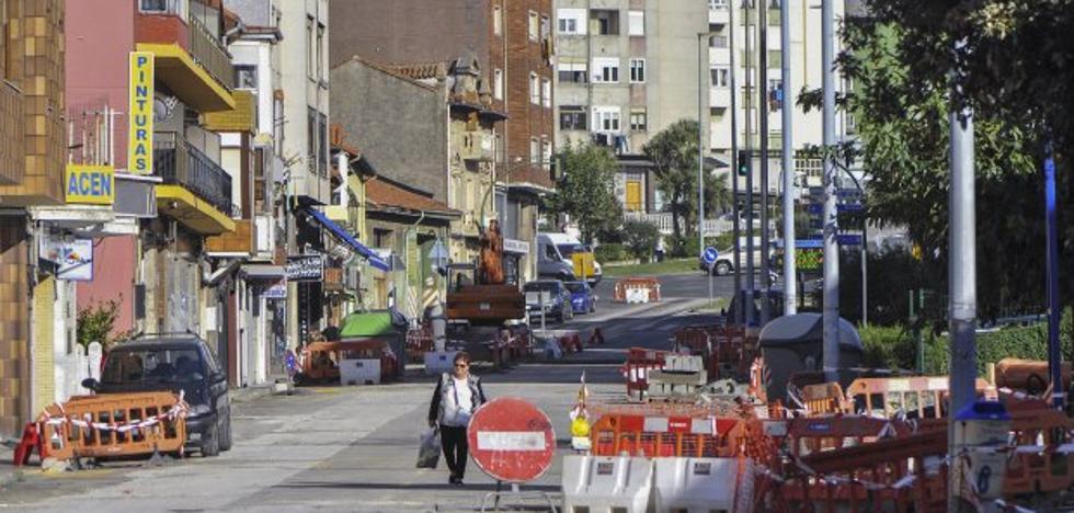 La reforma de las calles y parques de La Albericia finalizará en noviembre