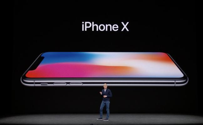 iPhone X: sin botón delantero, doble cámara y reconocimiento facial