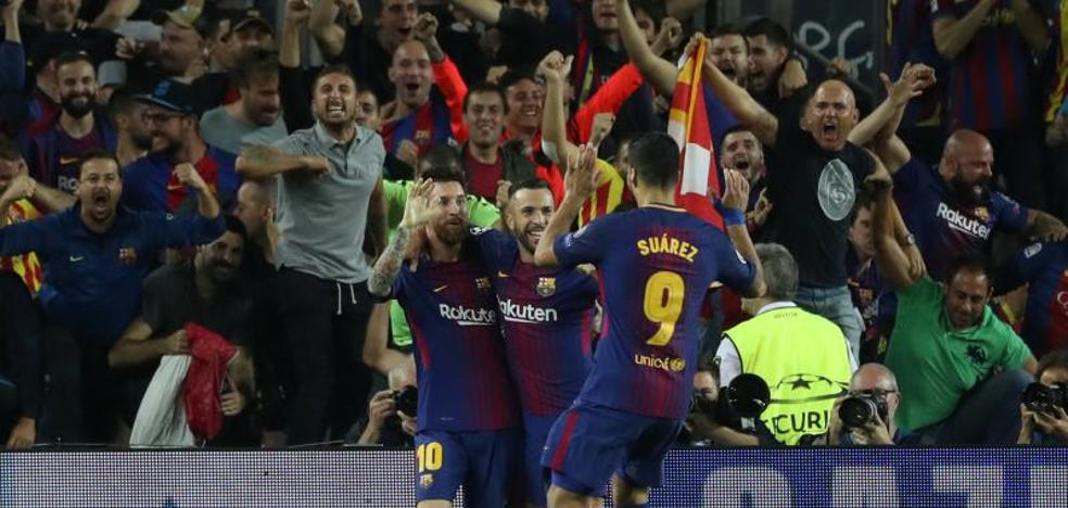 Messi grita alto que el Barça está de vuelta
