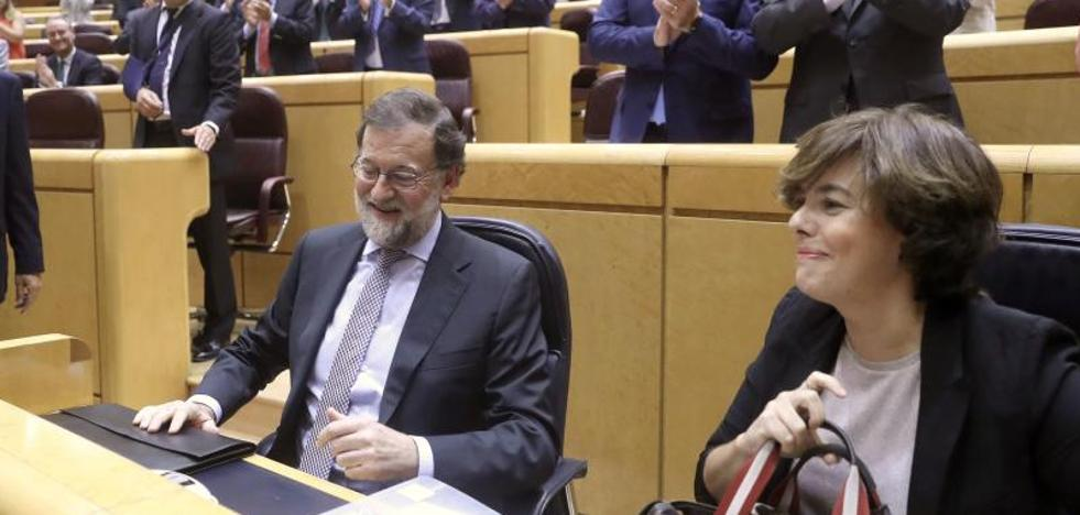 Rajoy responsabiliza al PDeCAT de la situación en Cataluña y le pide autocrítica