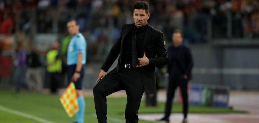 Simeone: «Esto va de goles»