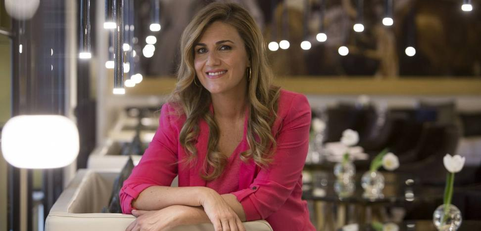 Carlota Corredera, este jueves en El Corte Inglés de Santander