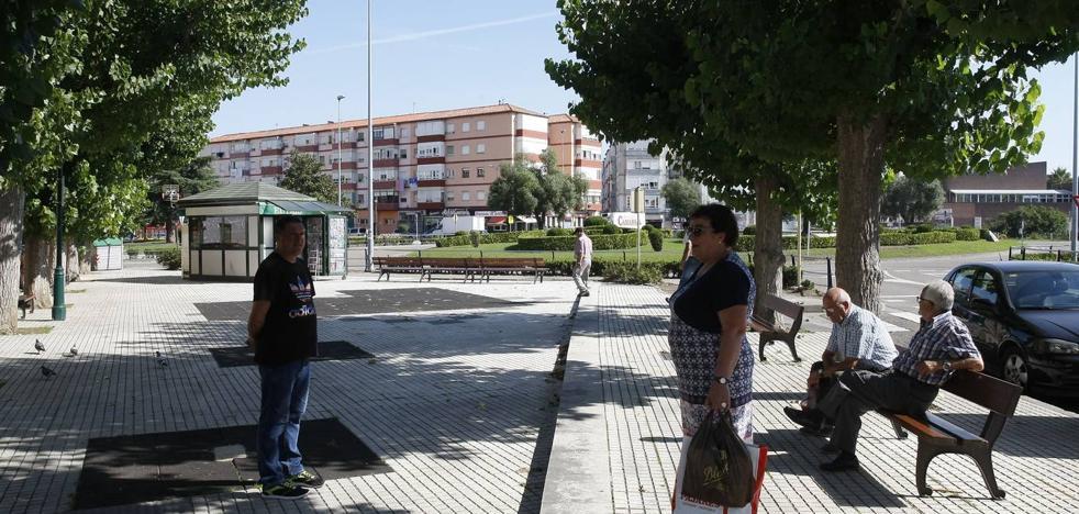 Comienza las obras del nuevo parque infantil del Barrio Covadonga