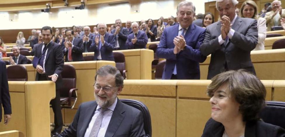 Rajoy aplaza el debate sobre la reforma de la Constitución hasta después del 1-O