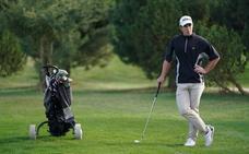 Manuel Ballesteros, primer líder del Campeonato PGA