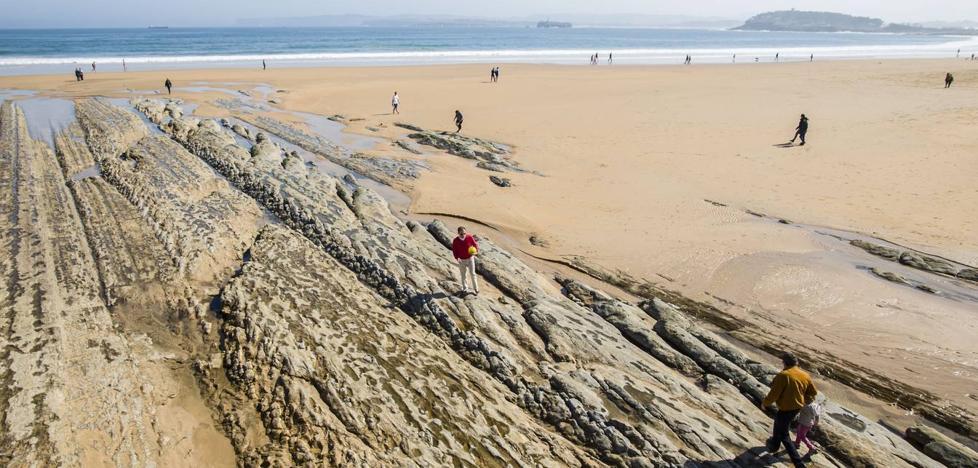 Tres espigones reducirán los daños de los temporales y la erosión de la Segunda playa de El Sardinero