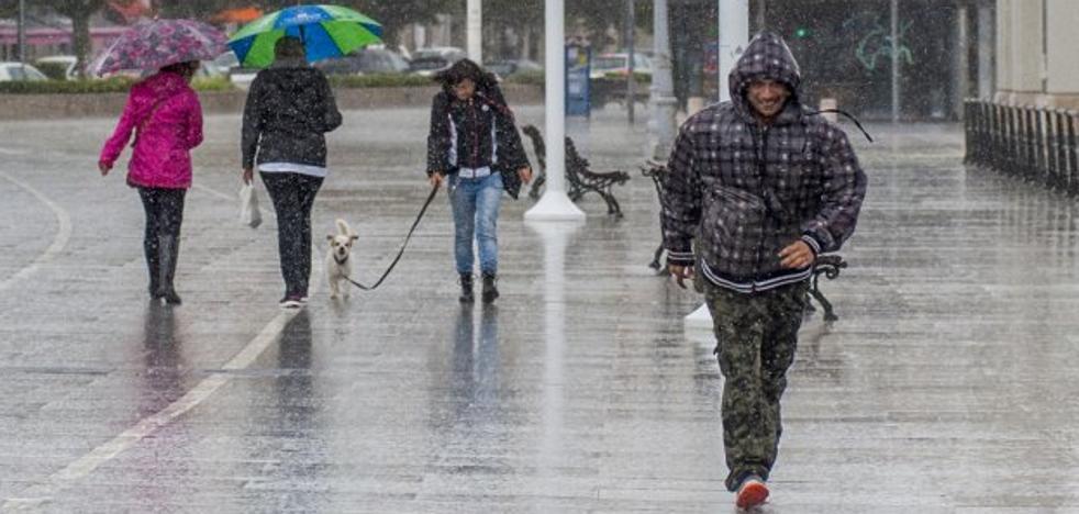 Las trombas de agua sitúan a Santander a la cabeza de España en precipitaciones