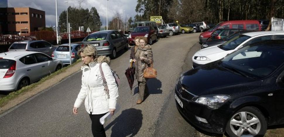 Sanidad pide licencia municipal para ampliar el aparcamiento de Sierrallana