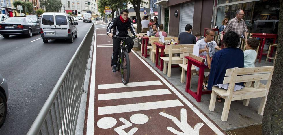 El Ayuntamiento de Santander ha gastado ya más de seis millones en carriles bici