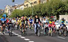 Una marcha ciclista en Santander abre la Semana Europea de la Movilidad