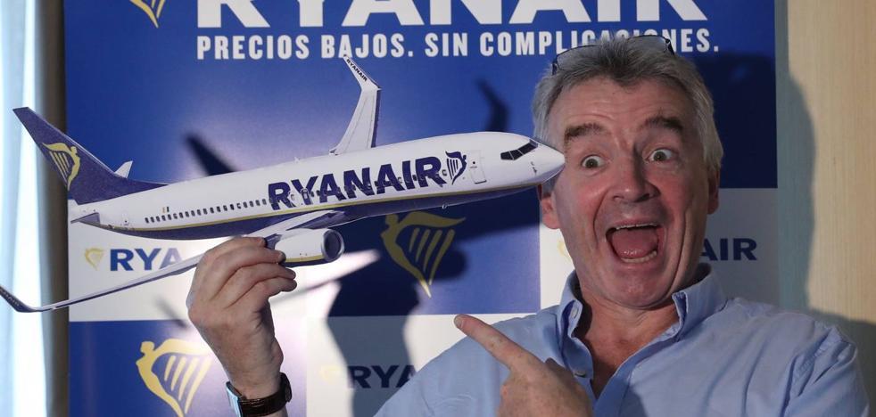 La epidemia de cancelaciones de Ryanair ha afectado a tres conexiones con Santander
