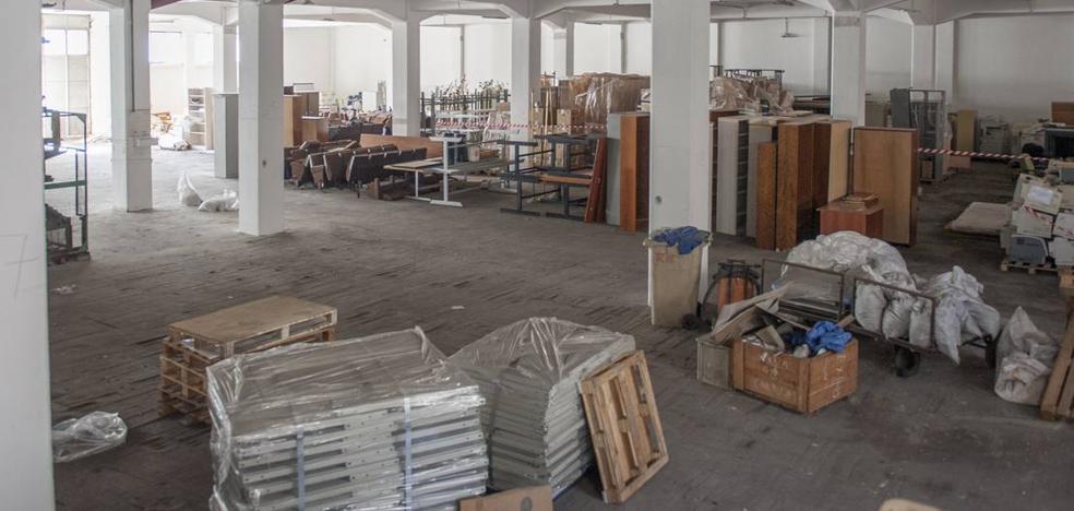 Arrancan las obras para abrir el edificio de Tabacalera tras 15 años cerrado