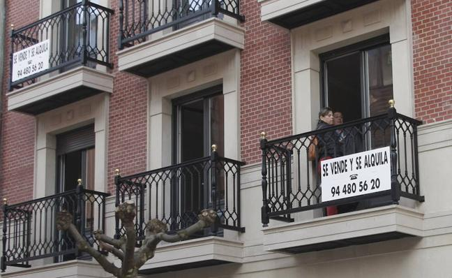El precio medio de la vivienda libre sube el 1,6% en un año