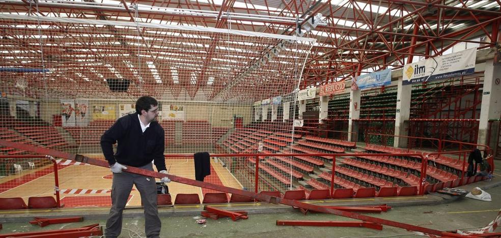 El PP denuncia los problemas detectados en el gimnasio del Vicente Trueba