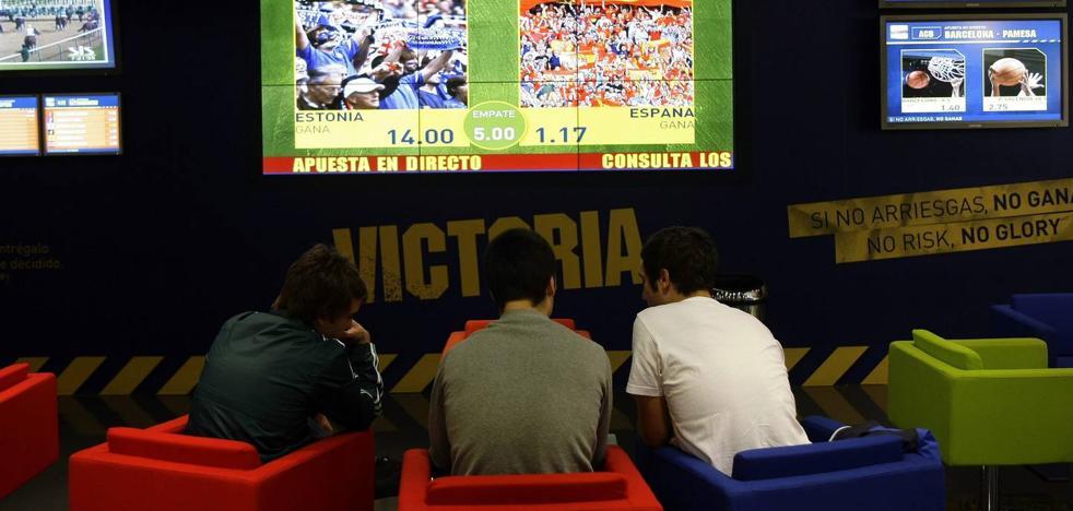 Aumenta en Cantabria el número de jóvenes adictos a las apuestas online