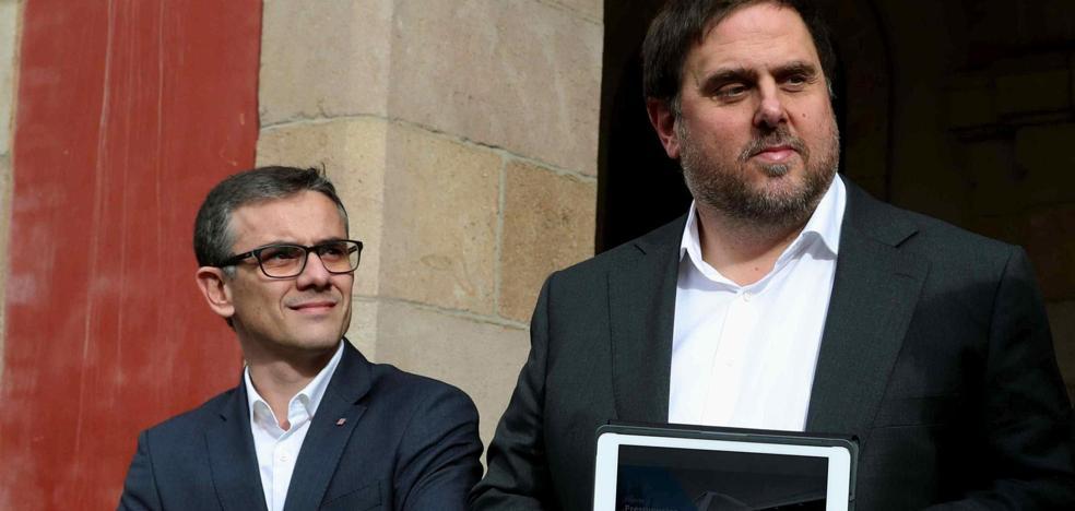 El TC también sanciona con multas diarias de 12.000 euros al número 'dos' de Junqueras