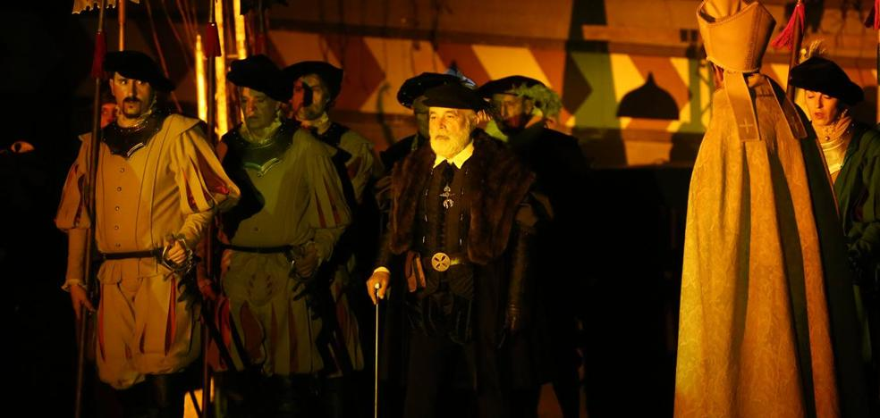 Carlos V regresa a Laredo