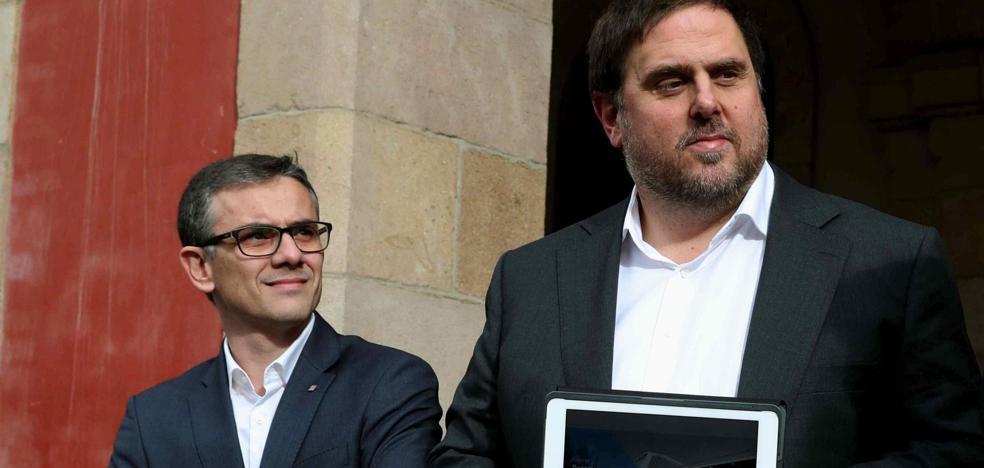 La Generalitat cesa al número 2 de Junqueras para evitarle la multa del Constitucional