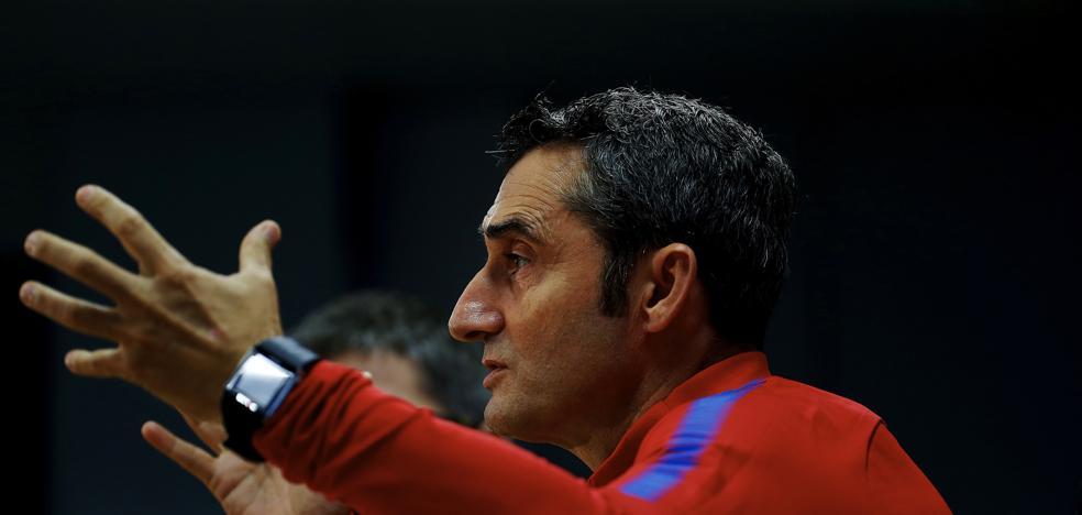 Valverde, irónico: «Hace un mes estábamos en una hecatombe»