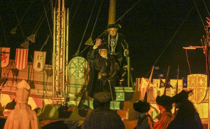 Imágenes del Desembarco de Carlos V en Laredo
