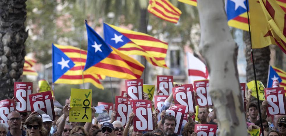 Los cántabros residentes en Cataluña, «preocupados por un futuro incierto»