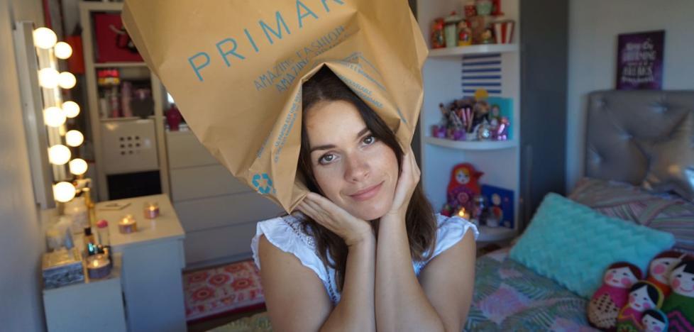 Comprando mandanga en Primark