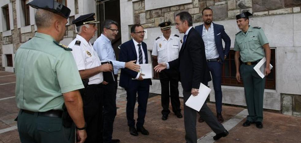 La Policía incrementará su presencia en Campuzano para mejorar la seguridad