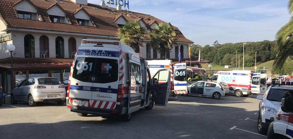 Sale de la UCI uno de los cuatro heridos graves por la fuga de gas en Isla
