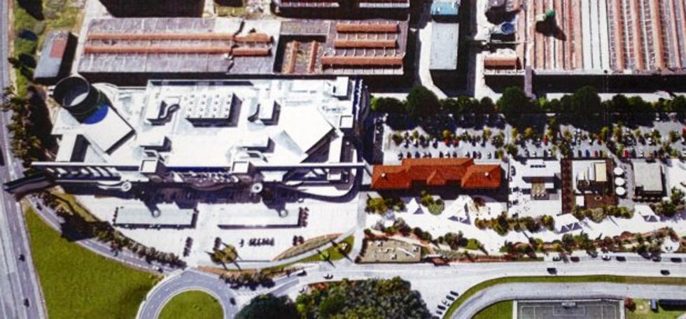 Sniace propone construir un gran centro de ocio y un polígono industrial en sus terrenos