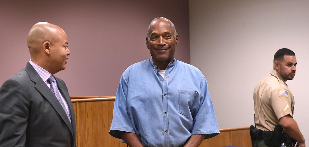 O.J. Simpson, listo para salir de prisión