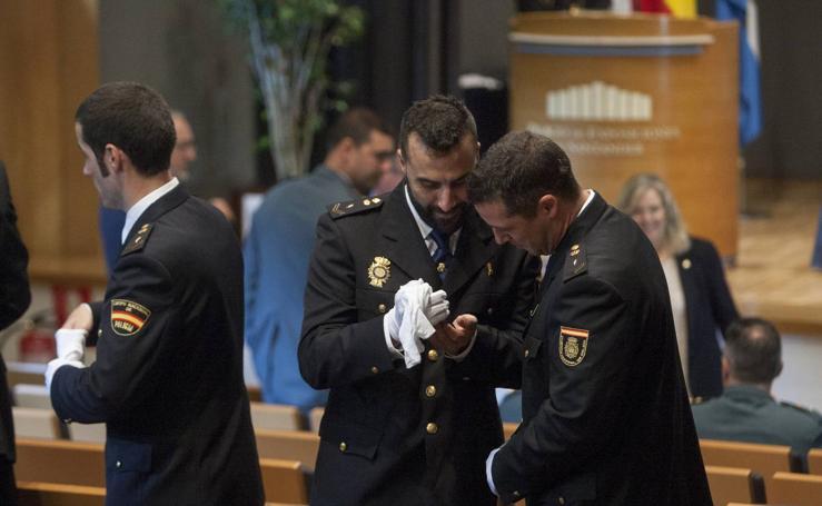 La Policía honra a su patrón