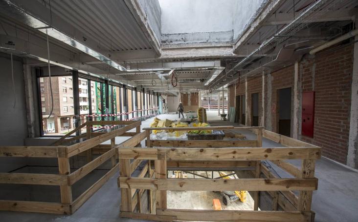 El Centro Cívico de Cazoña estará acabado a finales de año