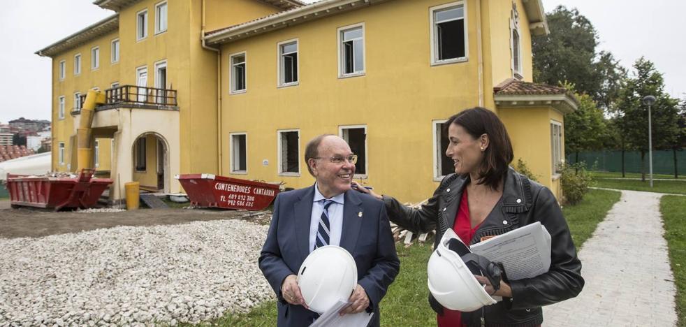La reforma del pabellón 3 de la Residencia de Las Llamas durará nueve meses