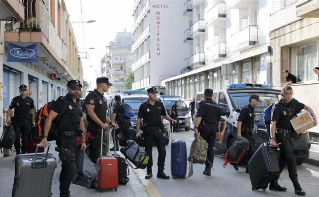 Interior amplía el despliegue policial en Cataluña hasta el 18 de octubre