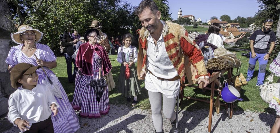De paseo con el Marqués de Valdecilla