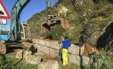 Obras Públicas devuelve a Laredo las piedras de su viejo puerto