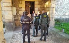 Los ladrones topan con la iglesia en Los Corrales de Buelna