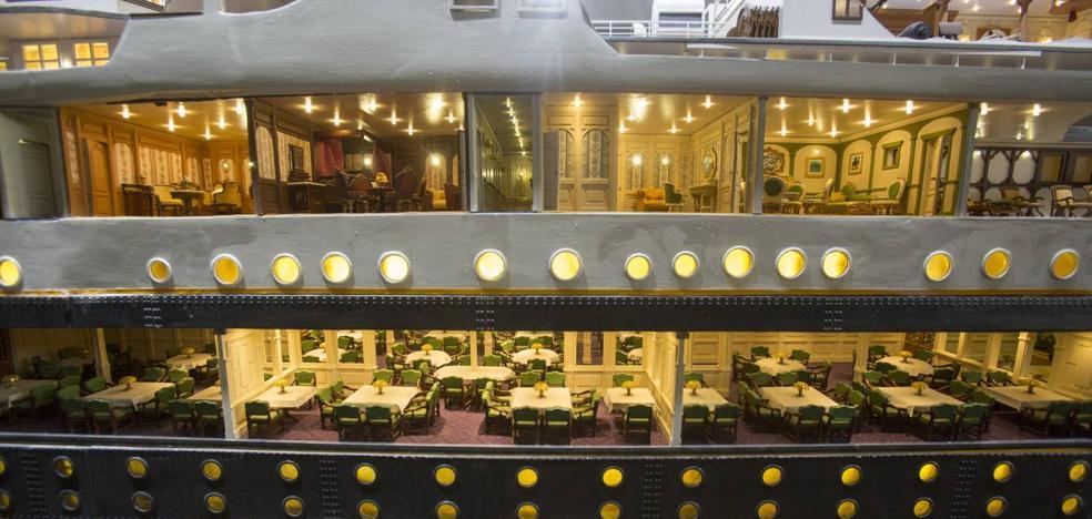 Santander recuerda el lujo y la tragedia del Titanic