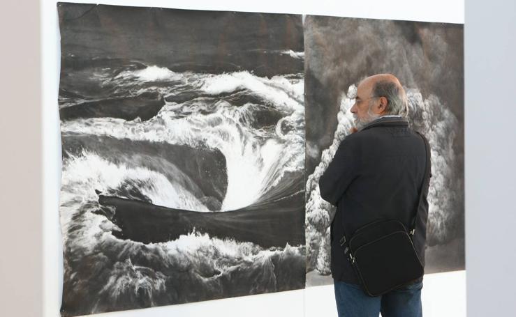 'Dibujar la tormenta' reúne a ocho artistas en Biblioteca Central