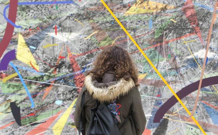 'Julie Mehretu: Una historia universal de todo y nada'